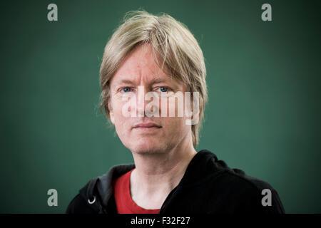 Dutch-born writer of fiction Michel Faber. - Stock Photo