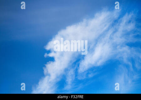 New Brighton, Wallasey, UK 31st March, 2016.  UK. Weather.  Abstract Faces, weird clouds, unusual cloud, strange - Stock Photo