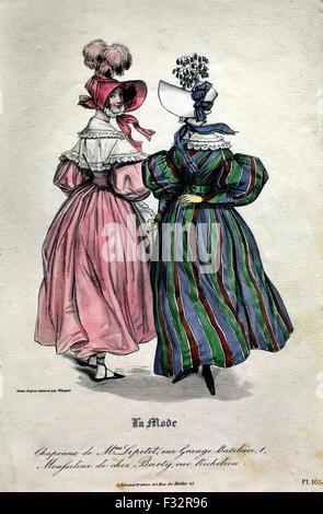La published by Emile Girardin ( 1802 - 1881 (after Paul Gavarni 1804 - 1866 ) French Paris - Stock Photo