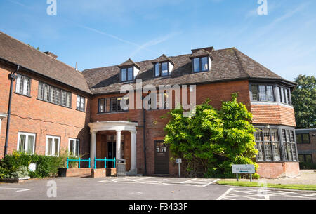 New Forest District Council Office Appletree Court in Lyndhurst, Hampshire - Stock Photo