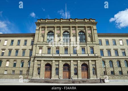The reknown University of Zurich in Switzerland - Stock Photo