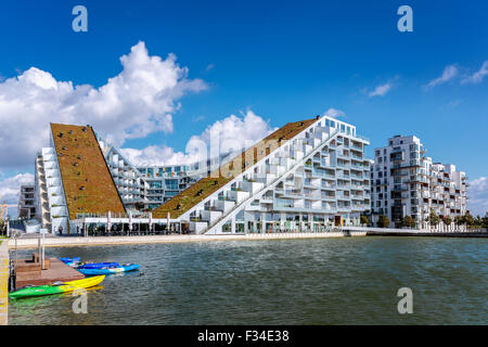 8 House, also known as 8 Tallet or Big House, architect Bjarke Ingels, 2011 prize for best building in the world, - Stock Photo