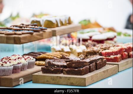 Beautiful buffet food - Stock Photo