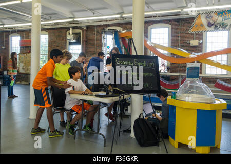 See science center Manchester New Hampshire NH - Stock Photo