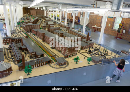 See science center in Manchester New Hampshire - Stock Photo