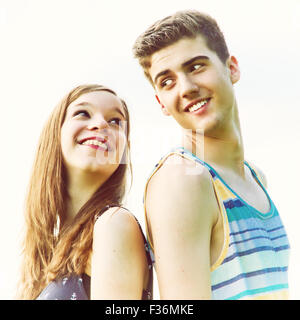 Young, happy couple - Stock Photo