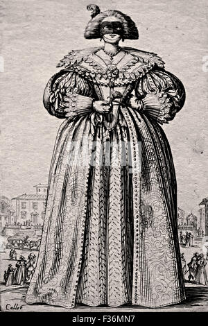 The Nobility of Lorraine 1620-1623 Jacques Callot 1592 - 1635 France French - Stock Photo