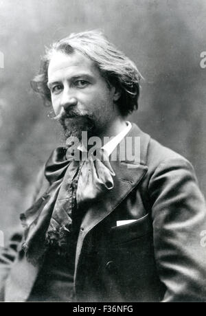 GUSTAVE CHARPENTIER (1860-1956) French composer - Stock Photo