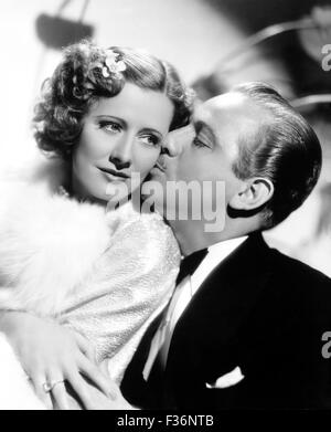 THEODORA GOES WILD 1936 Columbia film with Irene Dunne and Melvyn Douglas - Stock Photo