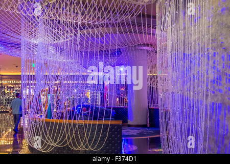 The chandelier bar at the cosmopolitan hotel casino in las vegas the chandelier bar at the cosmopolitan hotel casino in las vegas stock photo aloadofball Choice Image