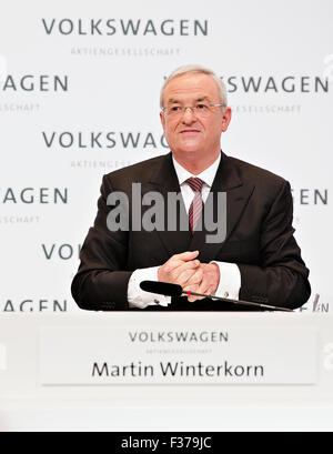 Martin Winterkorn, VW, Volkswagen - Stock Photo