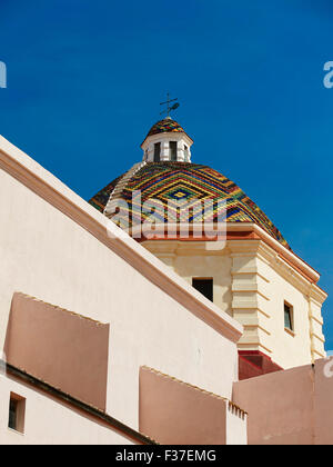 Church of San Michele, Alghero, Sardinia - Stock Photo