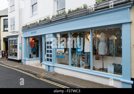 Seasalt clothes shop Padstow Cornwall UK. - Stock Photo