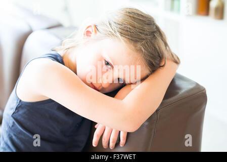 5 year-old girl. - Stock Photo