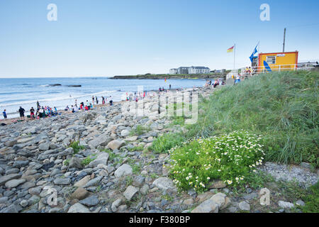 along the Wild Atlantic Way on the West Coast of Ireland - Stock Photo