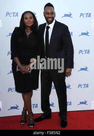 Los Angeles, California, USA. 30th Sep, 2015. RZA at arrivals for PETA's 35th Anniversary Gala, The Hollywood Palladium, - Stock Photo