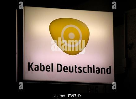Markenname: 'Kabel Deutschland', Berlin. - Stock Photo