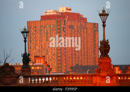 Bettenhaus der Charite, Berlin-Mitte. - Stock Photo