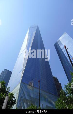 One World Trade Center in New York City - Stock Photo