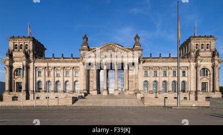 Reichstag building in Berlin, Germany. - Stock Photo