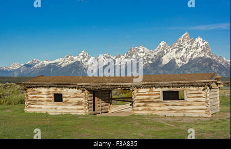 cunningham in park view range grand from losee national of seen mountain image cabins window as the teton clint cabin