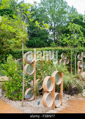 The seed garden at the 2015 International Garden Festival 2015 at the Domain of Chaumont-sur-Loire