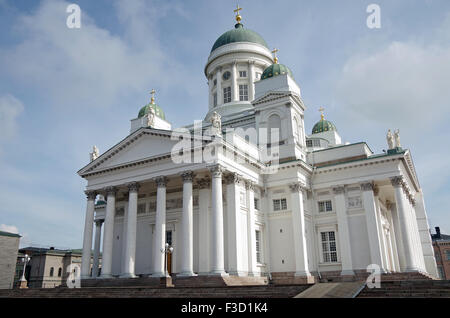 Helsinki, Finland, Lutheran cathedral, St Nicholas - Stock Photo