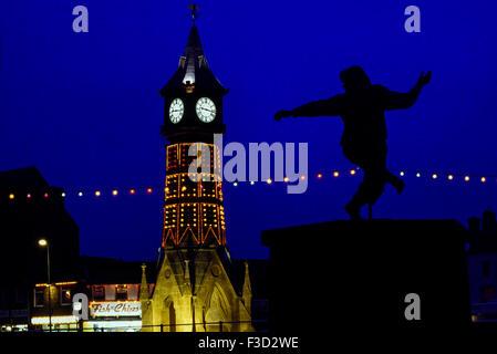 Skegness illuminations. Lincolnshire. England. UK - Stock Photo