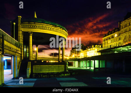 The Bandstand at Eastbourne. East Sussex. England. UK - Stock Photo