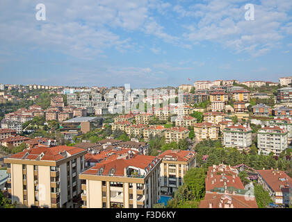 View of the modern Istanbul city - Stock Photo