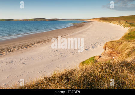 The Sands of Mussetter on the island of Eday, Orkney Islands, Scotland. - Stock Photo