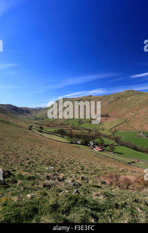 Place Fell and the Boredale valley, Lake District National Park, Cumbria County, England, UK. is Place Fell
