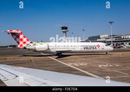 Airport Bordeaux Gironde Aquitaine France Europe - Stock Photo