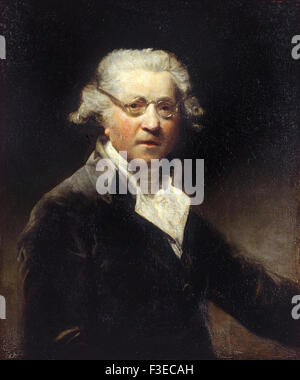 Sir Joshua Reynolds - Self portrait - Stock Photo