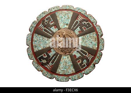 Disc From Chichen Itza, Yucutan, Mexico - Stock Photo