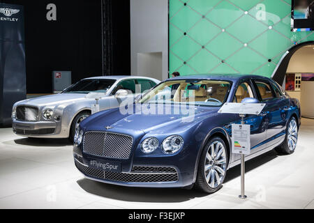Bentley Flying Spur at the IAA International Motor Show 2015 - Stock Photo