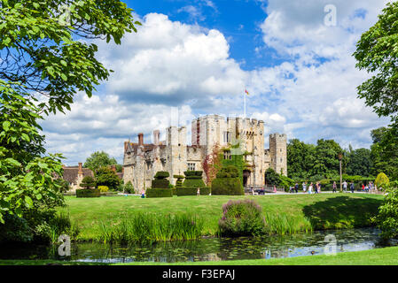 Hever Castle, family home of Anne Boleyn, Hever, Kent, England, UK - Stock Photo