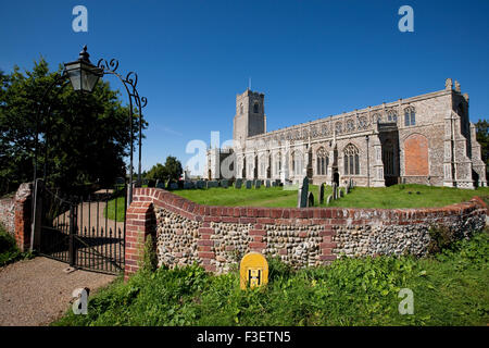 Blythburgh Church Holy Trinity Suffolk - Stock Photo