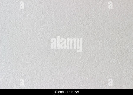 Wall painted in white - Stock Photo