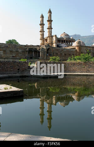 Champaner Pavagadh 15th century ruler Mahmud Begda Jami Masjid complex Archaeological park Champaner - Stock Photo
