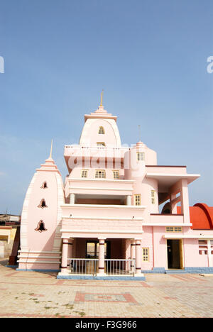 Gandhi Memorial established in 1956 (height 79 feet); Kanyakumari ; Tamil Nadu ; India - Stock Photo