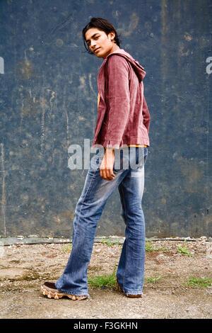 a165fb3af55 ... of a fashionable Japanese young man in vibrant colors. Kaushik twenty  one years old Southeast Asian boy smiling   Bombay Mumbai   Maharashtra    India