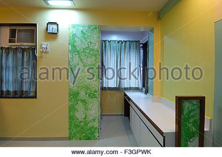 Living Room Furniture Mahim >> Newly renovated middle class flat in Mahim ; Bombay Mumbai Stock Photo: 88264999 - Alamy