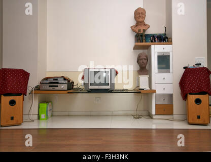 Interior of house in Mulund ; Bombay Mumbai ; Maharashtra ; India - Stock Photo