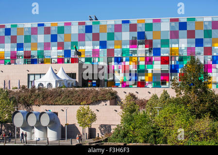 Museum of Modern and Contemporary Art / Musée d'Art Moderne et Contemporain de Strasbourg / MAMCS, Alsace, France - Stock Photo