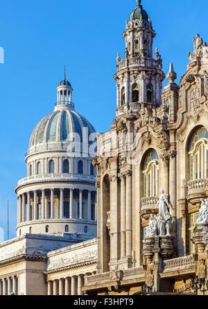 Great Theater of Havana, Cuba Stock Photo, Royalty Free ...