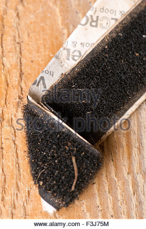 Fabric Hook And Loop Fastener - Stock Photo