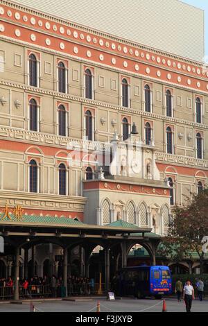 China, Macau, Cotai Strip, Venetian, hotel, casino, - Stock Photo