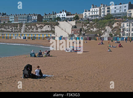 Broadstairs Beach, Kent, England - Stock Photo