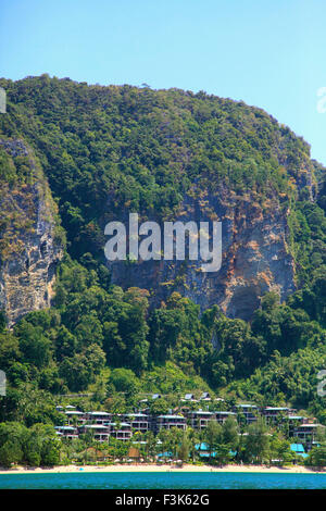 Thailand, Krabi, Ao Nang, Phai Plong Beach, Centara Resort, - Stock Photo